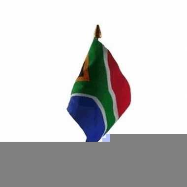 Zuid afrika vlaggetje met stokje