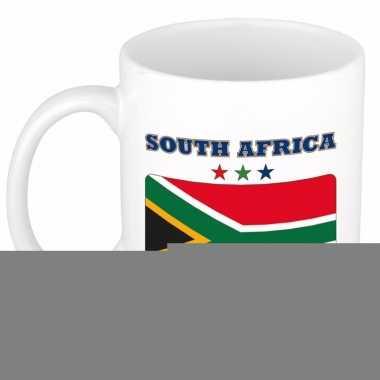 Zuid afrikaanse vlag theebeker 300 ml