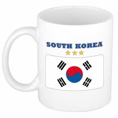 Zuid koreaanse vlag theebeker 300 ml
