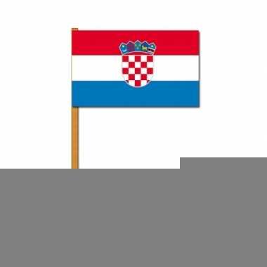 Zwaaivlaggetjes kroatie