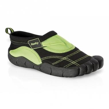Zwart/groene waterschoenen voor kinderen