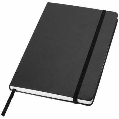 Zwart kantoor notittie boek a5
