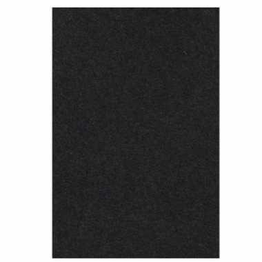 Zwart papieren tafelkleed 137 x 274 cm