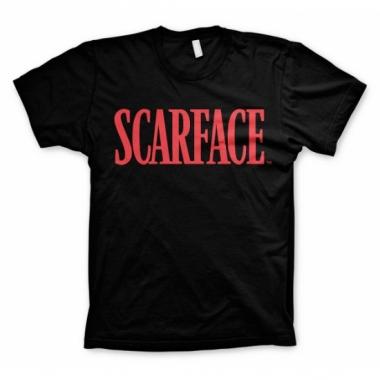 Zwart scarface t-shirt
