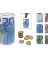 10 eurobiljet spaarpot 13 cm trend