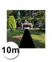 10 meter zwarte loper 1 meter breed trend