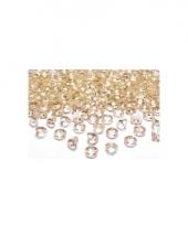 10 steentjes goud 2 cm trend
