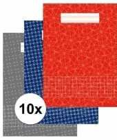 10 stuks school schriften a4 met ruitjes 10 mm trend
