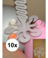 10 troshangers voor 8 ballonnen trend