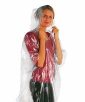 100 stuks regen nood poncho pakket trend