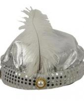 1001 nacht hoed zilver trend