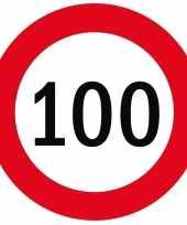 100x bierviltjes 100 jaar thema stopborden trend