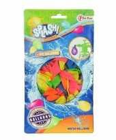 100x gekleurde waterballonnen speelgoed trend 10151055