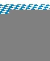 10x blauw met wit tafelkleden van 80x260 cm trend