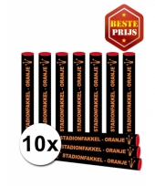 10x oranje fakkels bengaals vuur trend