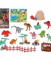 10x plastic dinosaurus dieren speelgoed figuren voor kinderen trend