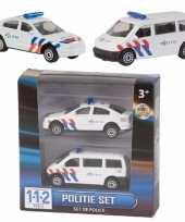 112 politie auto setje van 2 stuks trend