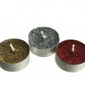 12 glitter kaarsjes waxine trend