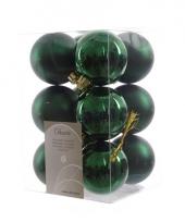 12 groene kerstballen assortiment trend 10076314