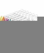 12 pasen kleurplaten placemats pakket met stiften en potloden trend