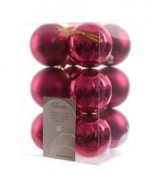 12 roze kerstballen assortiment trend