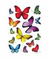 126x vlinders dieren stickers trend
