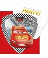 12x disney cars uitnodigingen voor uw feestje trend