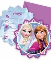 12x disney frozen uitnodigingen trend