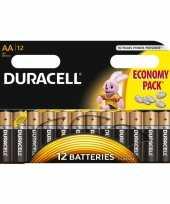12x duracell aa batterijen alkaline trend