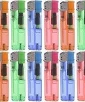 12x gekleurde aanstekers 9 cm trend