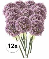 12x lila sierui kunstbloemen 70 cm trend