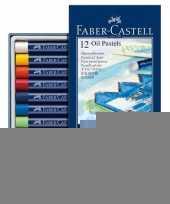 12x oliepastelkrijt faber castell 11mm trend