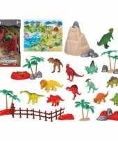 12x plastic dinosaurus dieren speelgoed figuren voor kinderen trend