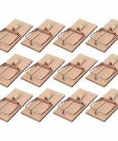 12x rattenvallen rattenklemmen 17 cm ongediertebestrijding trend