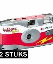 12x wegwerp cameras met flitser trend