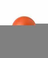 15 oranje anti stressballetjes 6 cm trend