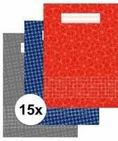 15 stuks school schriften a4 met ruitjes 10 mm trend