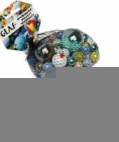 158x gekleurde speelgoed knikkers trend