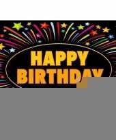 15x verjaardag wenskaart happy birthday trend