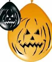 16x ballonnen in halloween thema trend