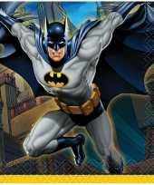 16x batman themafeest servetten 25 x 25 cm trend