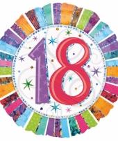18 jaar folieballon trend