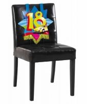 18 jaar versiering voor aan een stoel trend