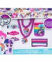18x my little pony haaraccessoires sieraden set voor meisjes trend