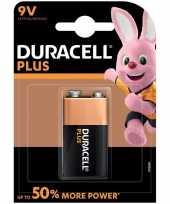 1x duracell v9 plus batterij alkaline lr61 9 v trend