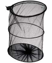 1x leefnet visnet zwart 35cm visbenodigdheden trend