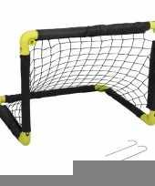 1x opvouwbaar voetbaldoel 55 cm trend