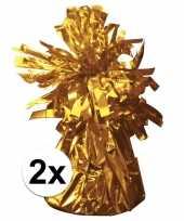 2 ballongewichten goud 170 gr trend