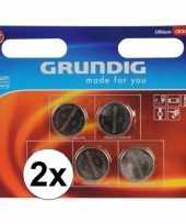 2 pakjes knoopcel batterijen 5 stuks cr2450 trend
