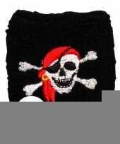 2 stuks piraten zweetbandje trend